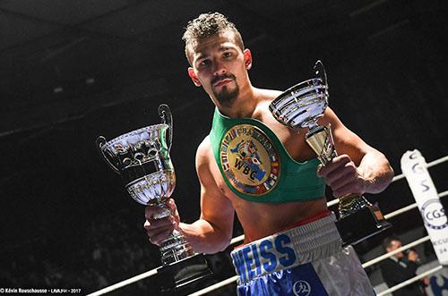Jordy Weiss Champion européen WBC méditerranée