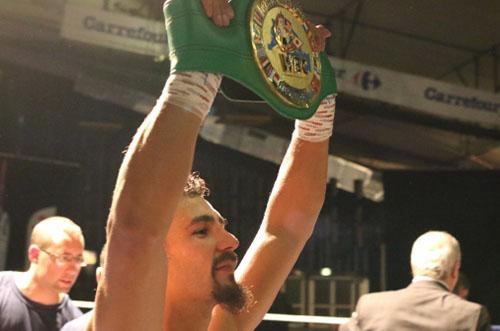 JORDY WEISS CHAMPION WBC MÉDITERRANNÉE !