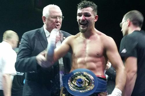 Le boxeur Lavallois, Jordy Weiss, Champion de l'Union Européenne !