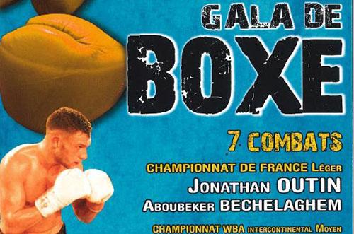 Jordy Weiss au Gala de boxe à Pont-Audemer