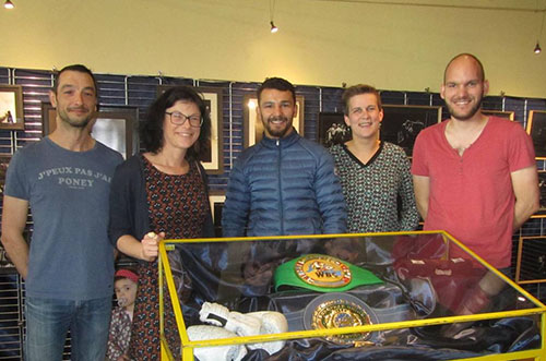 L'expo photos qui retrace le parcours du boxeur Jordy Weiss