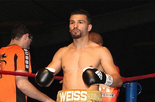 Jordy Weiss boxera le 15 novembre à Pessac