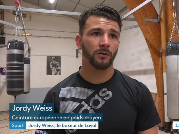 Jordy Weiss retrouve les rings